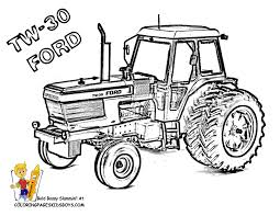 Small Picture Big Boss Tractor Coloring Pages to Print Free Tractors Farm