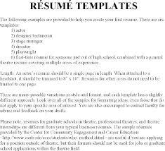 Resume Types Amazing 28 Types Of Resume Examples Packed With Resume Types Examples 28 Types