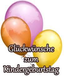 Glã¼ckwã¼nsche Und Sprã¼che Zum Kindergeburtstag
