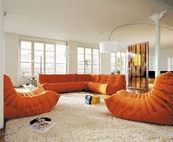 Decoration, Awesome Togo Sofa Furniture Design Ideas: Find Comfort From Togo  Sofa