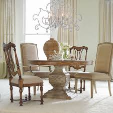 Pedestal Dining Table Set Hooker Furniture Sanctuary 5 Piece Round Pedestal Dining Table Set