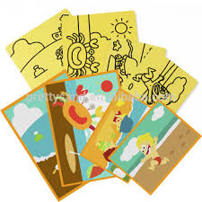 Sand Card Kids Diy Craft Supplies Sand Art Cards High Quality With 70