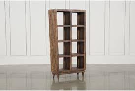 Otb Mango Wood Sawan Finish Cube 8-Hole Display Bookcase - Signature