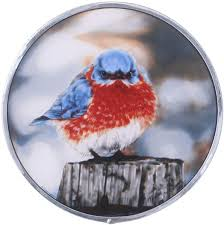 stained glass panel the mad bluebird stained glass window hangings art glass window treatments