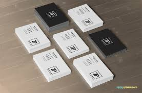 Free Personal Cards Free Psd Business Card Mockups Zippypixels