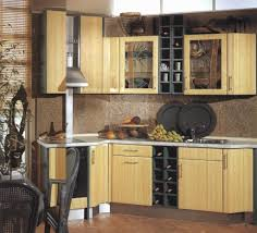 Wine Cellar In Kitchen Floor Modern Sustainable Bamboo Kitchen Cabinet Ideas Feats Huge Ionizer