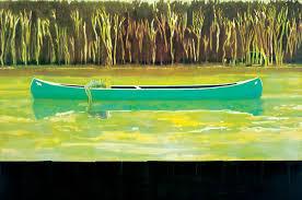 peter doig canoe lake 1997 oil on canvas 200 x 300cm