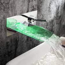 juno chrome finish led wall mounted