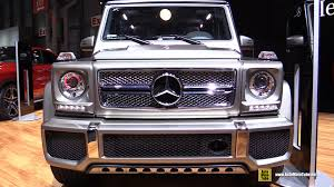2015 mercedes g wagon interior. Interesting 2015 2015 MercedesBenz GClass G65 AMG  Exterior And Interior Walkaround  New York Auto Show YouTube For Mercedes G Wagon