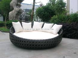 large round chair cushions round wicker