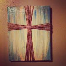 canvas paint wood stain and jute pins ive actually done living room wall decorating