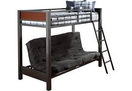 bunk bed with slide and desk. Beautiful Desk Louie Gray TwinFuton Loft Bed Throughout Bunk With Slide And Desk D