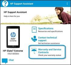 Hp Online Support Hp Notebook And Tablet Pcs Finding Warranty Information Hp