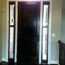 front door sidelight coverings side panel curtains beautiful window entry