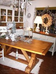 cross buck trestle table this custom farm table harvest table was designed and crafted