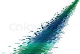 Abstract Data Stream Stock Vector Colourbox