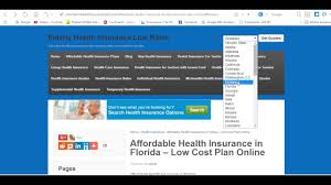health insurance quotes florida affordable health insurance in florida low cost plan