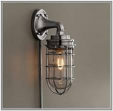 plug in wall sconce. Plug In Wall Sconce LightL Plugin L