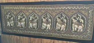 sequins embroidered kalaga tapestry