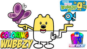 Wow! Wow! Wubbzy! Coloring Pages - Nickelodeon Nick Jr. Coloring ...