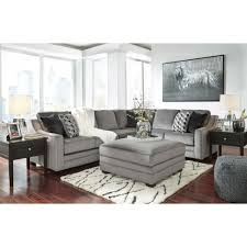 Ashley Furniture Bicknell RAF Sectional Sofa with Corner Wedge in
