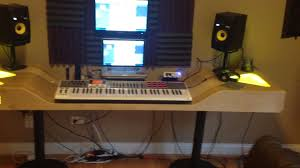 how to build an at home recording studio the best studio desk you