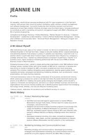Product Marketing Manager Resume samples