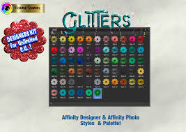 Calendar, frames and photo frames, invitation png and psd formats | download. Glitters Designers Kit For Affinity Photo Affinity Designer Graphic By Angela H Evans Creative Fabrica