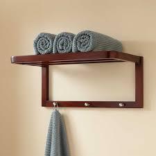 Wood Towel Shelf Signature Hardware