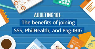 Why You Should Be An Sss Philhealth And Pag Ibig Member