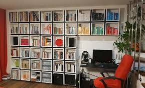 42 ekets make a unique ikea cube bookcase