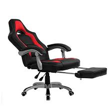 comfortable gaming chair.  Gaming CTF Racing Sport Reclining High Back Swivel Chair With Foot Stool On Comfortable Gaming Amazon UK