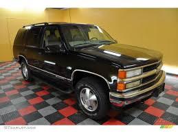 1999 Onyx Black Chevrolet Tahoe LT 4x4 #40962172 | GTCarLot.com ...