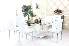 wooden dining table and chairs dining table set glass top glass dining room table and