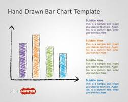 Powerpoint Charts Tutorial Hand Drawn Bar Chart Template For Powerpoint Powerpoint