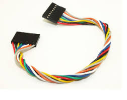 wire cable harness dupont connector cable 8pin 20 mm f m header