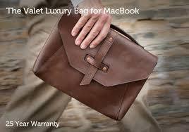 valet 13 leather laptop case valet luxury sleeve for macbook