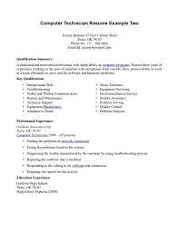 Download Pc Technician Resume Sample Ajrhinestonejewelry Com