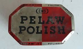 cws pelaw antique. Old Collectible CWS Pelaw Leather Polish Vintage Box Container Tin Cws Antique