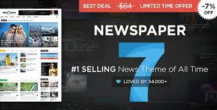 Wordpress Template Newspaper Wordpress Themes Newspaper Theme 7 7 1