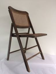 wicker folding chairs. Folding Chair With Wicker Seat, Mid-20th Century Chairs