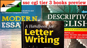 ssc cgl tier essay and letter writing books preview ssc cgl ssc cgl tier 3 essay and letter writing books preview ssc cgl ssc chsl descriptive exam