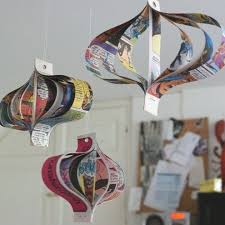 68 Best Recycled Christmas Crafts Images On Pinterest  Holiday Christmas Crafts Recycled Materials