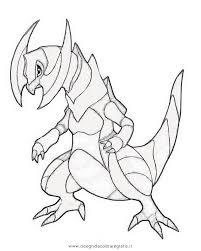 Disegno Pokemon Haxorus Personaggio Cartone Animato Da Colorare
