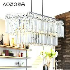 odeon glass fringe rectangular chandelier rectangular chandelier dining room beautiful clear crystal chandelier dining room light