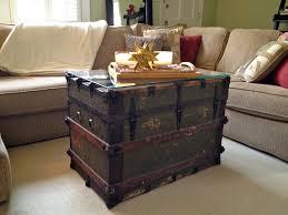 Image of: Trunk Ottoman Teen Storage Ottoman