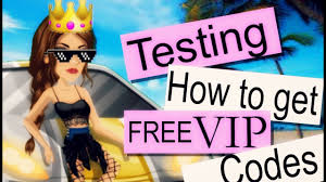 testing how to get free vip codes msp