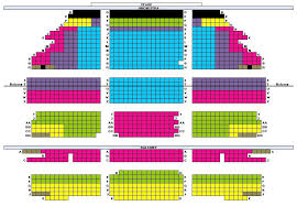 Seat Map Chicago Opera Theater