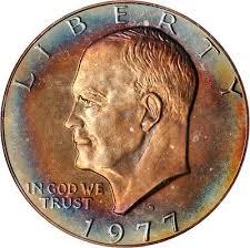 1972 Eisenhower Silver Dollar Value Chart When Dealing With Eisenhower Dollars Grade Is Everything