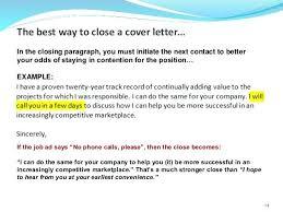 closing sentence for cover letter strong closing statements for cover letters close to a cover letter